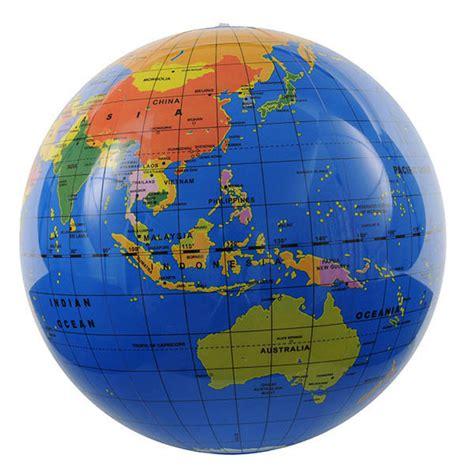tiger tribe  cm inflatable world globe