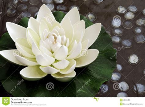 artificial lotus flower the artificial lotus flower stock images image 4544434