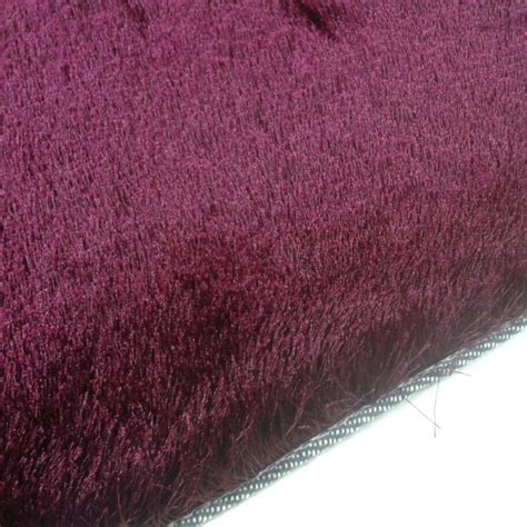 Tapis Shaggy Bordeaux by Tapis Shaggy Bordeaux Longues M 232 Ches