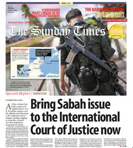Sabah Issue Essay bring sabah issue to the international court of justice now rigobertotiglao