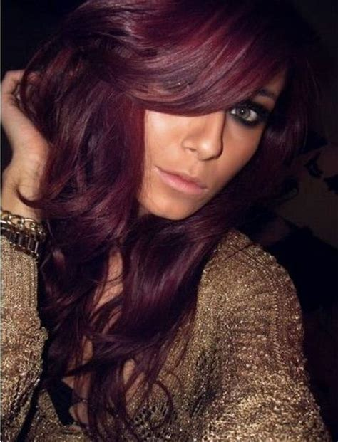 burgundy brown hair color pictures pinterest the world s catalog of ideas