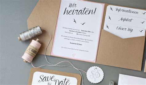 Hochzeitseinladung Pocketfold by Hochzeitseinladung