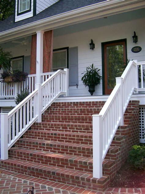 brick front porch steps brick porch brick steps porch