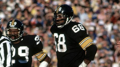 who were the members of the steel curtain former steelers defensive end and member of the steel
