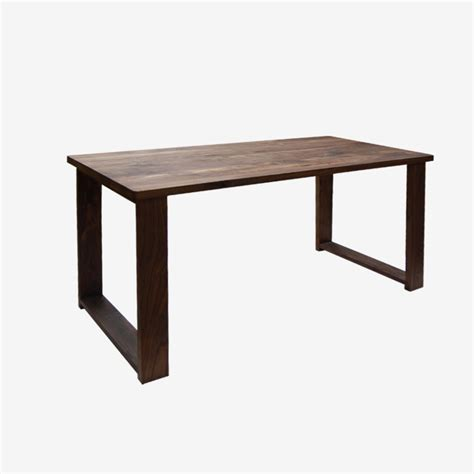 All Wood Dining Tables Mumo Wood Wax Processing All Solid Wood Dining Table Black Walnut Wood Table Ink Timber Dining