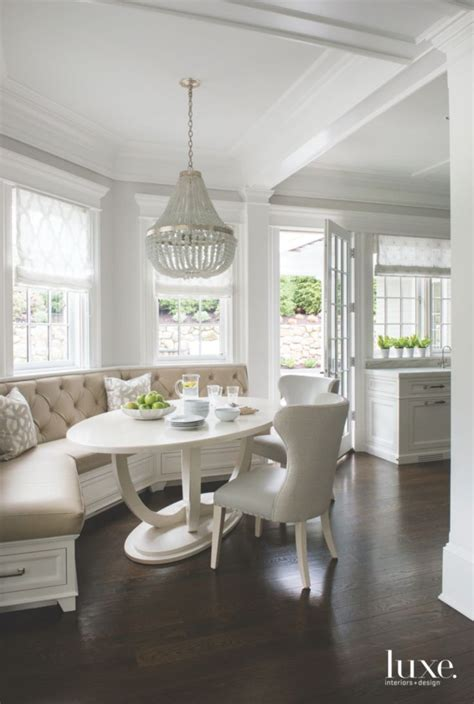 white breakfast nook best 25 oval kitchen table ideas on pinterest small