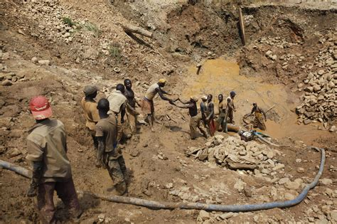 democratic republic of congo child labor mining in congo lure of quick cash turns farmers into miners