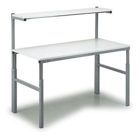 esd tisch esd standard arbeitstisch mit etagenboard arbeitstische