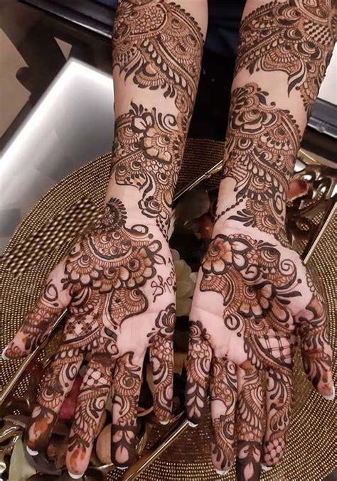 fantastic bridal mehandi designs  gorgeous hands