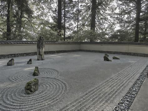 zen garden us aggregates american zen rock and raked gravel garden portland