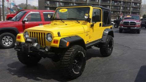 2001 Jeep Sport Towing Capacity Sell Used 2001 Jeep Wrangler Sport In 3870 Avenue