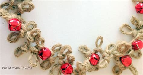 crafts with bells loopy jute twine garland with bells hometalk