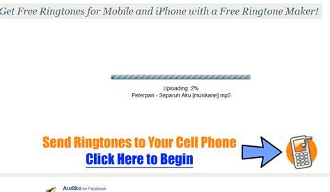 membuat ringtone iphone tanpa itunes keempat setelah semua proses upload selesai silakan atur