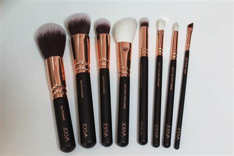 Zoeva Eyeshadow Brushes Review zoeva golden luxury brush set s beautiful