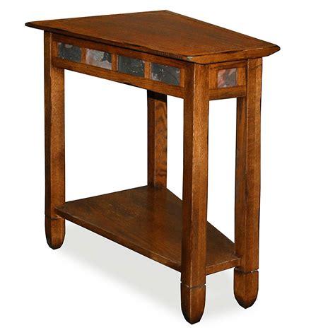 wedge accent table wedge end table decor ideasdecor ideas