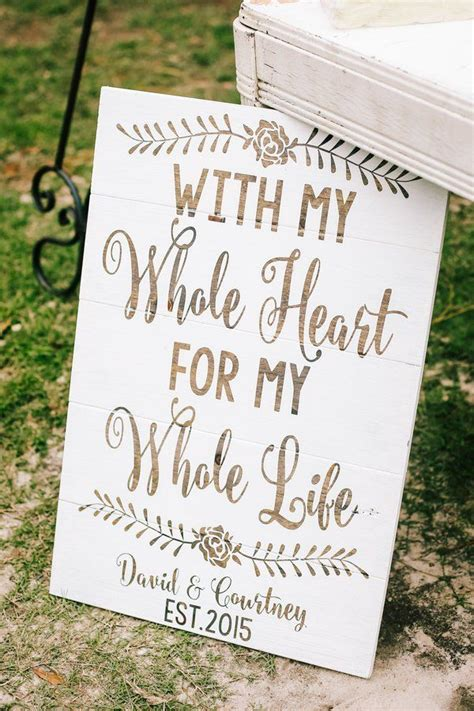 Wedding Quotes Signs by 1000 Images About Rustic Wedding Signs On