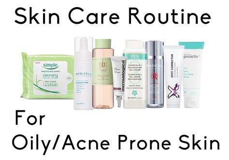 Top 8 Acne Products For by My Current Skin Care Routine Acne Prone Skin
