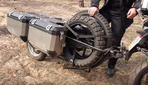 motosikletiniz icin daha fazla yuekleme alanina mi
