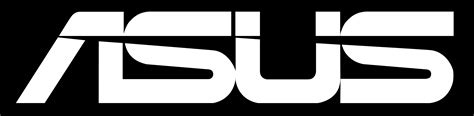 logo black and white asus logo logotype