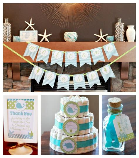 Baby Shower Decorations Calgary by 17 Best Ideas About Sea Baby Showers On