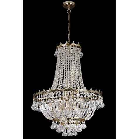 versailles chandelier searchlight 9112 59go versailles 9 light gold chandelier