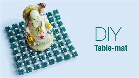 How To Make Table Mat by How To Make Table Mat Diy Beaded Table Mat