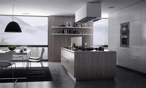 grey wallpaper kitchen grey kitchen moody melancholic interiors wallpaper 11