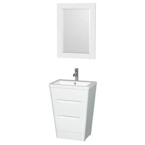 vanity only for pedestal sinks caprice 24 quot bathroom pedestal vanity set with integrated