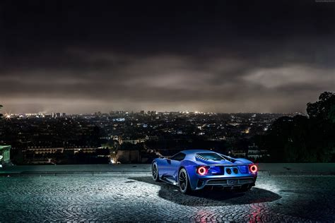 ford supercar concept wallpaper ford gt supercar concept blue sports car