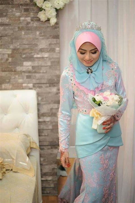 Baju Nikah Dusty Blue 44 best baju nikah sanding images on bridal gowns bridal and wedding gowns