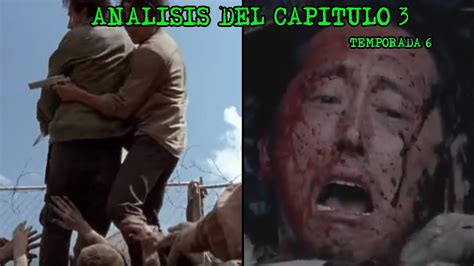 Resumen 5 Temporada The Walking Dead by Analisis Muerte De Glenn Capitulo 3 The Walking Dead