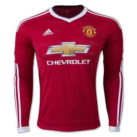 As Roma Home Ls 1516 manchester united 15 16 ls home jersey mlwacgyhur 163 17