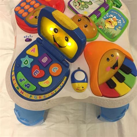 laugh learn table best fisher price laugh learn with musical