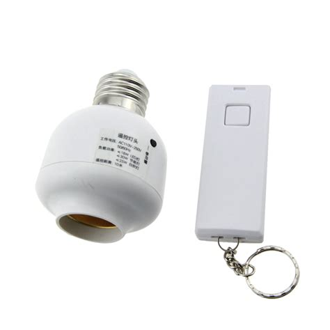 remote control light bulb e27 to e27 remote control light switch bulb socket ac 110
