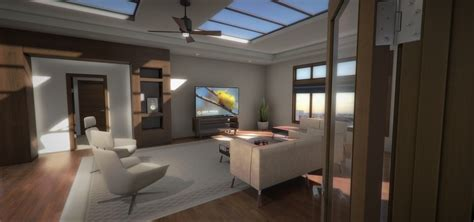 virtual interior design architectural visualization in virtual reality for oculus