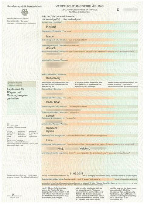 Musterbrief Einladung Für Besuchervisum Einladung Ausl 228 Nderbeh 246 Rde Animefc Info