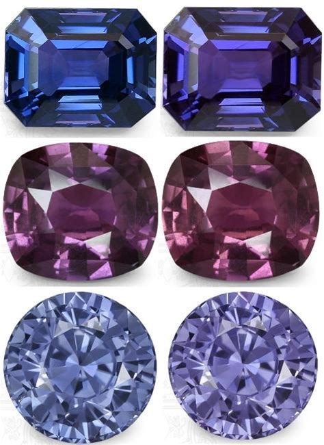 color sapphire color change bi color sapphires the chameleon gems