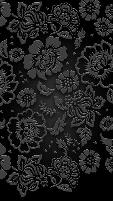 Op4803 Black Froral Flower Print For Iphone 5 5 Kode Bi 2 17 best images about wallpaper on iphone 5 wallpaper floral patterns and wallpapers