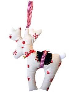 free sewing pattern reindeer christmas ornament