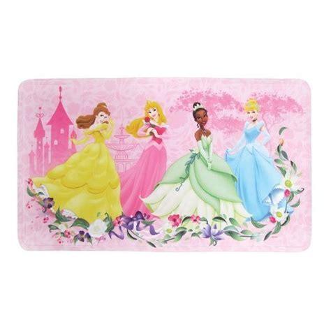 Disney Princess Decorative Bath Mat Pink Home Garden Disney Princess Bathroom Accessories