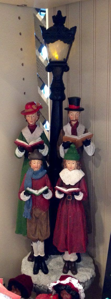 christmas carolers cracker barrel gift shop cracker