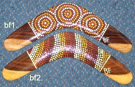 painting boomerang collectable boomerangs traditional and contemporary dot