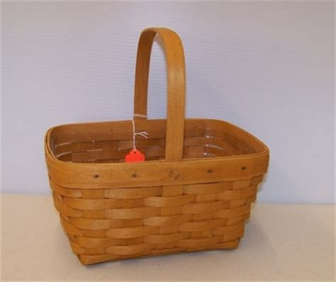 longaberger basket values longaberger 1997 spring basket 1106232