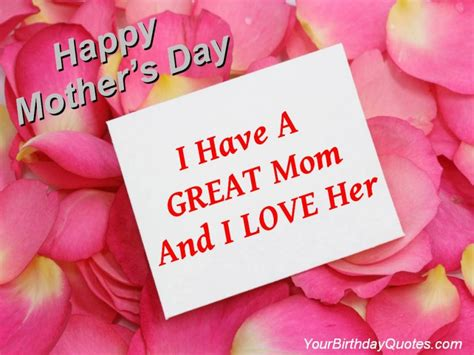 mothers day you quotes greatest yourbirthdayquotes
