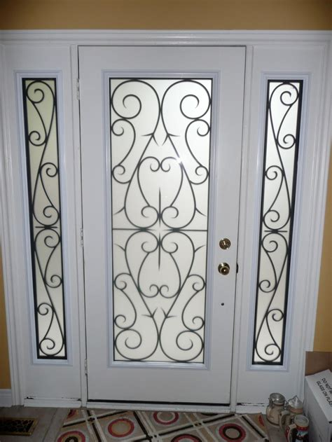 9 Best Wrought Iron Glass Inserts By York Home Improvement Glass And Iron Doors