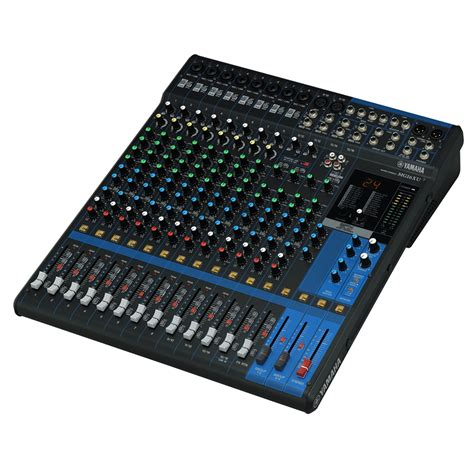 Mixer Audio Yamaha 16 Channel yamaha mg 16xu analog mixer