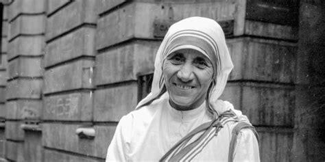 lettere di madre teresa diretta tv santificazione madre teresa di calcutta 2016