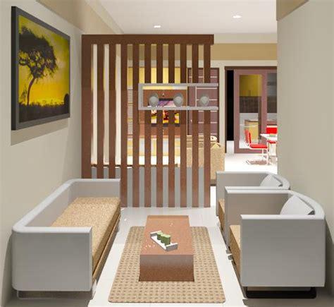 interior ruang tamu  cantik interior rumah sederhana