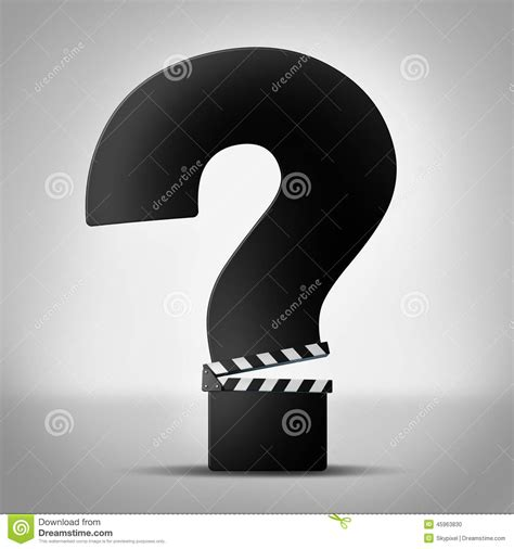 film review quiz show movies questions stock illustration image 45963830