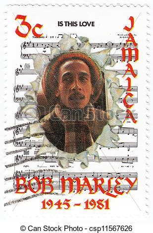 jamaika circa 1981 : stampstock photo instant